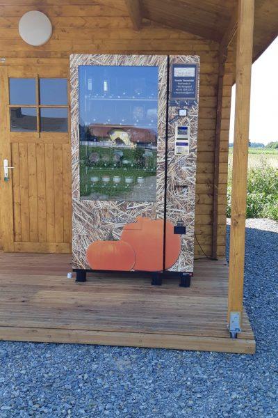 Selbstbedienungsautomat Reisewohnmobilstellplatz Thorschütz Königsdorf